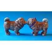 figurine seet poivre chow chows mw93901