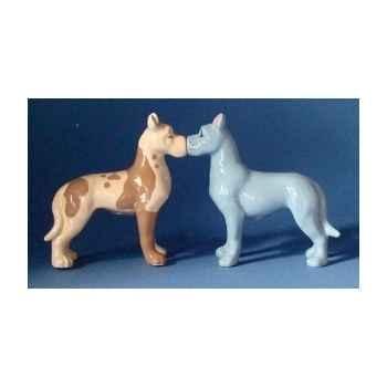Figurine sel et poivre - great danes   - mw93937