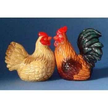 Figurine sel et poivre - rocster & hen  - mw93947