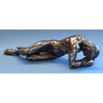 Figurine body talk - lying man large - bt51