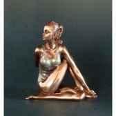 figurine body talk yoga ardha matsyendra asana wu74986