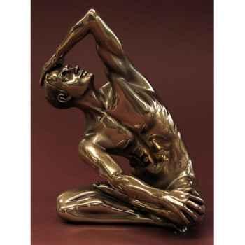 Figurine body talk - man exercising large  - wu74989