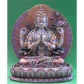 figurine buddha avolokiteshvara mbz cowu71324