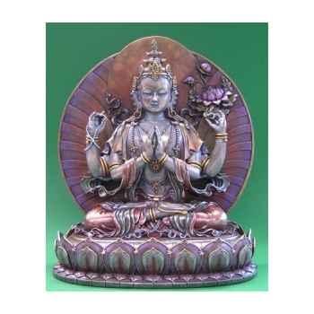 Figurine buddha - avolokiteshvara mbz col  - wu71324