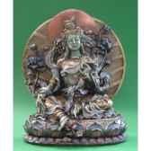 figurine buddha green tara wu71325
