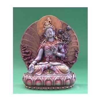 Figurine buddha - white tara mbz col  - wu71328