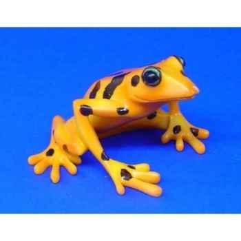 Figurine grenouille - harlequin frog  - bf04