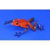 figurine grenouille strawberry frog bf06