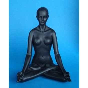 Figurine body talk - lotus pose black - bt01