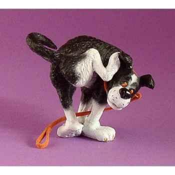 Figurine chien Rufus arrête - ruf01