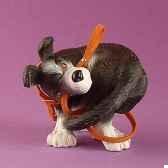 figurine chien rufus file ruf03