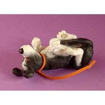 Figurine chien Rufus roule ailleurs - ruf06