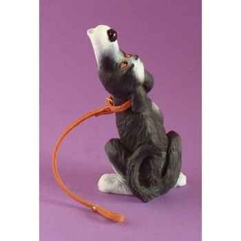 Figurine chien Rufus tais-toi - ruf08