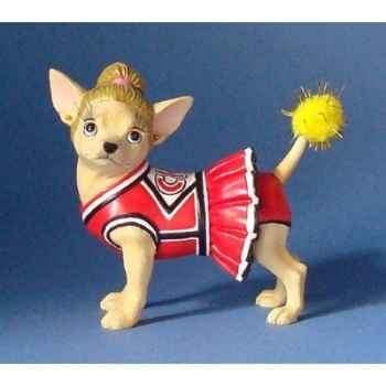 Figurine chien chihuahua cheery  - chi13678