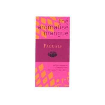 Maison Faguais-Thé aromatisé mangue.