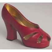 figurine chaussure miniature collection just the right shoe ravishing red rs25001