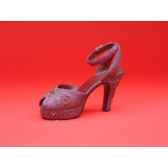 figurine chaussure miniature collection just the right shoe late for a date rs25065