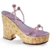 figurine chaussure miniature collection just the right shoe 1970 cork wedge rs25093