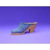 figurine chaussure miniature collection just the right shoe denim blues rs25141