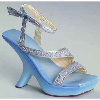 Figurine chaussure miniature collection just the right shoe glitter glam  - rs25315