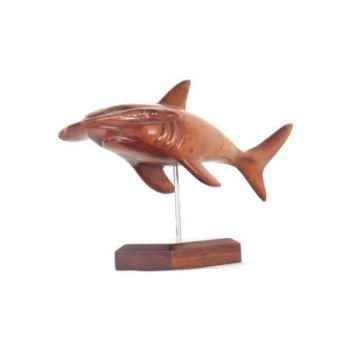 Lasterne - Les miniatures sur socle  - Le requin marteau en chasse - 50 cm - Last-ARE051S-R
