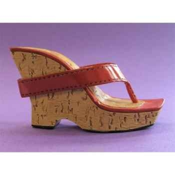 Figurine chaussure miniature collection just the right shoe cherry bomb   - rs26030