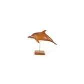 lasterne les miniatures sur socle le dauphin en mer 28 cm last ada028s r