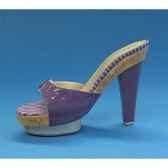 figurine chaussure miniature collection just the right shoe purple palace rs802819