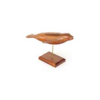 Lasterne - Les miniatures sur socle - Le phoque sous l\'eau - 28 cm Last-APH028S-R