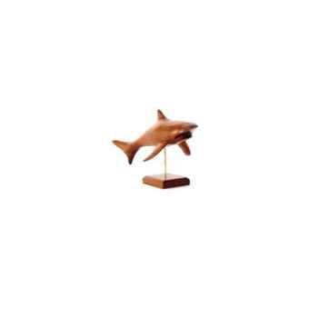 Lasterne - Les miniatures sur socle - Le requin en chasse - 30 cm Last-ARE030S-R