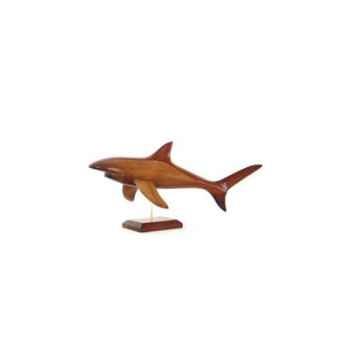 Lasterne - Les miniatures sur socle - Le requin en chasse - 50 cm - Last-ARE050S-R