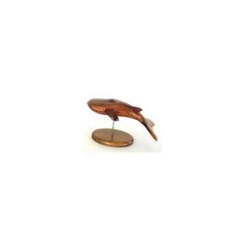 Lasterne - Les miniatures sur socle - Le rorqual - 30 cm Last-RO30-R