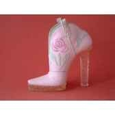 figurine chaussure miniature collection just the right shoe glittering cowgirrs90611