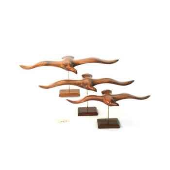 Lasterne - Les oiseaux de mer sur socle - La guifette - 63 cm - Last-GU63-R
