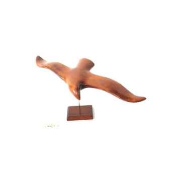 Lasterne - Les oiseaux de mer sur socle - La mouette 57 cm - Last-MO57-R