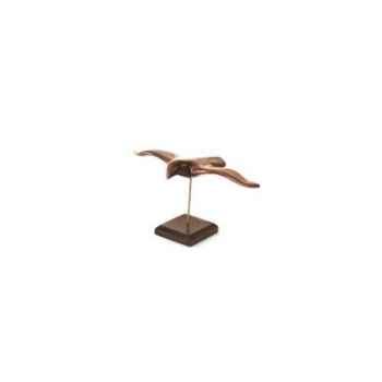 Lasterne - Les oiseaux de mer sur socle - Le goéland - 30 cm - Last-GO30-R