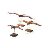 lasterne les oiseaux de mer sur socle le goeland 63 cm last go63 r
