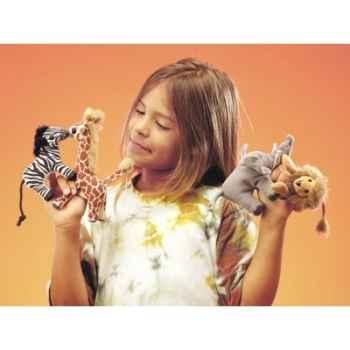 Marionnette lot animaux afrique -2622