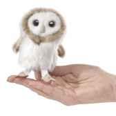 marionnette mini chouette effraie 2645