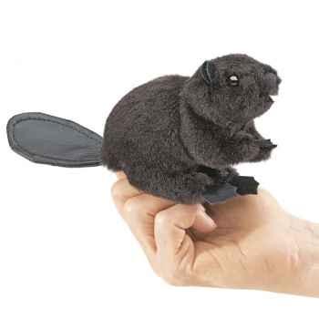 Marionnette Mini castor  -2651