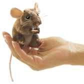 marionnette mini souris des champs 2652