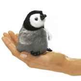 marionnette mini bebe pinguin empereur 2680