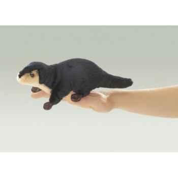 Marionnette Mini loutre de rivière  -2684
