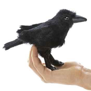 Marionnette Mini corbeau  -2698