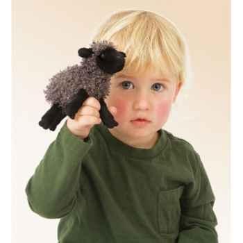 Marionnette Mini mouton noir  -2713