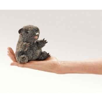 Marionnette Mini marmotte -2724