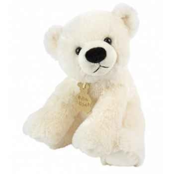 Peluche Ours polaire assis (PM) Histoire d\'Ours 1433