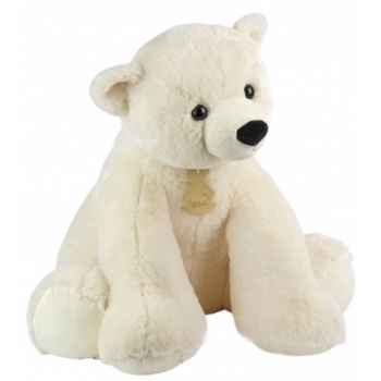 Peluche Ours polaire assis (MM) Histoire d\'Ours 1434