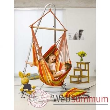 Hamac fauteuil Brasil papaya - AZ-2030220