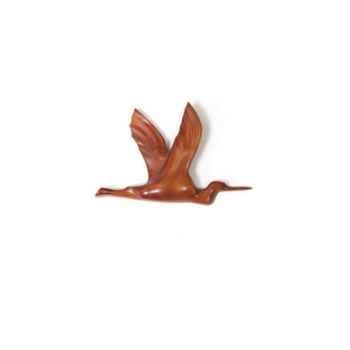Lasterne - Les oiseaux en vol - Vol du héron - 30 cm - BHE030-2